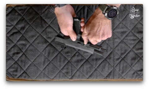How to take apart a Sig Sauer P365 pistol