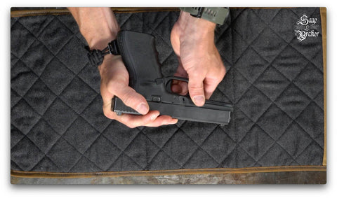 How to remove slide Glock 21