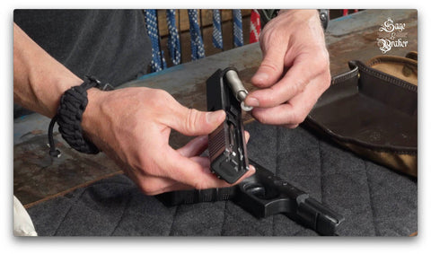 replace recoil spring Glock 21