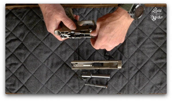 how to remove fire control unit sig sauer p320