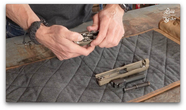 how to remove fire control assembly sig sauer p320