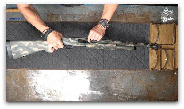 how to clean a mossberg 835