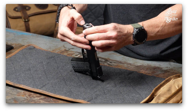 disassembling a Springfield 1911 A1