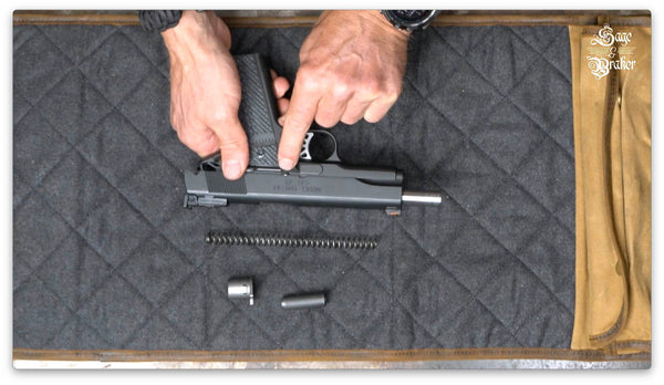 how to remove slide Springfield 1911 A1