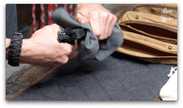 how to clean Springfield 1911 A1