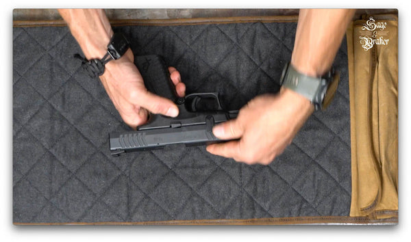 remove slide from Springfield XD40