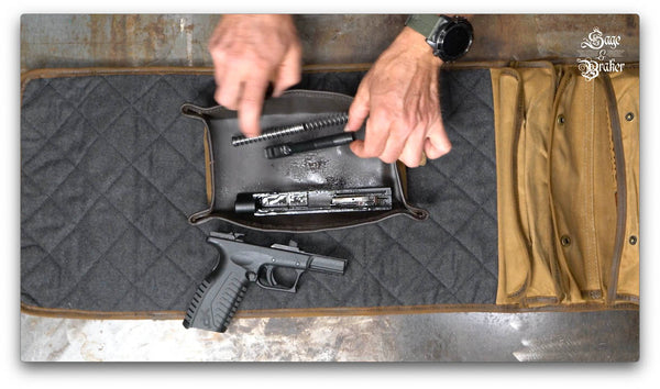 how to use CLP to clean a gun