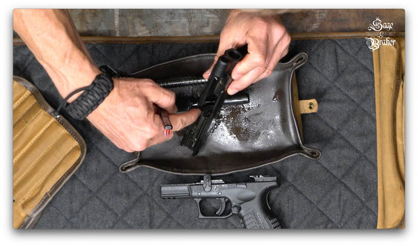 clean a extractor on gun