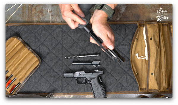 cleaning Springfield XD40