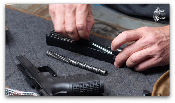 how to reassemble Springfield XD40