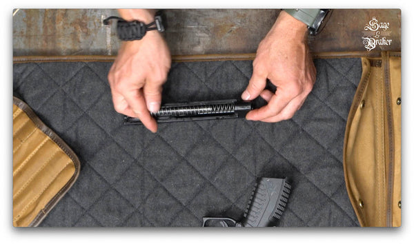 how to install guide rod Springfield XD40