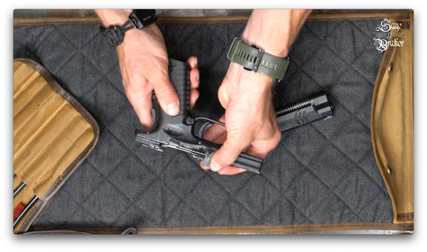 how to assemble Springfield XD40