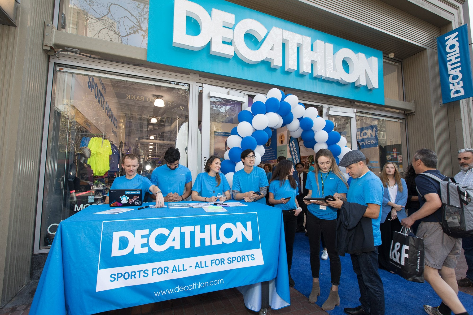 World's Largest Sporting Goods Retailer, Decathlon, Launches First US Lab Store in San Francisco
