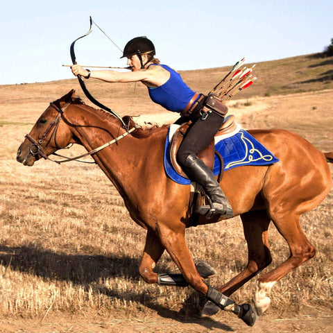 Hilary Merrill Mounted Archery Kim Hawkins