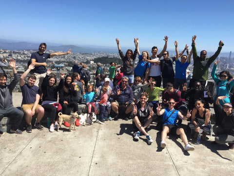 Decathlon Hosts Our First Urban Hike