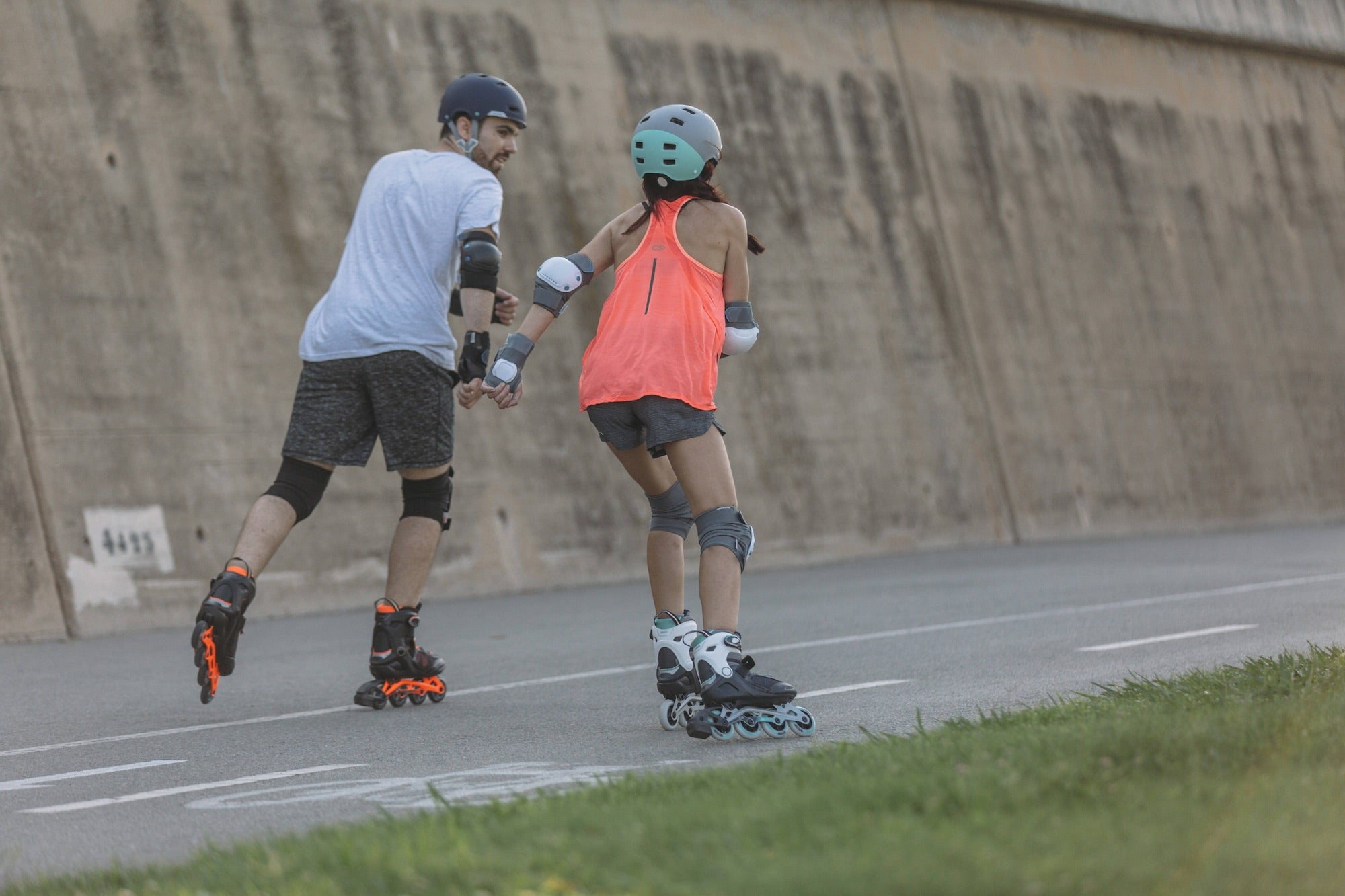 How to Learn to Roller Blade