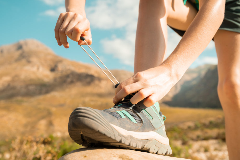 What's the right way to tighten and lace up your hiking shoes?