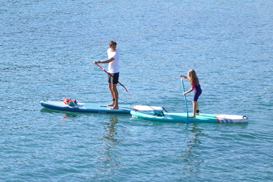 Introduce Your Child To Stand Up Paddle Boarding Decathlon