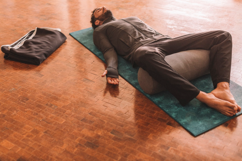 Relax with Restorative Yoga