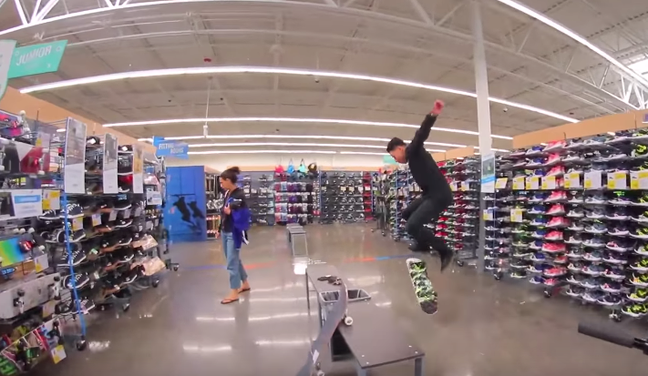 Skateboarders Discover Decathlon USA for the First Time