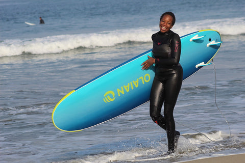 Shelby Tucker Black Girls Surf Decathlon