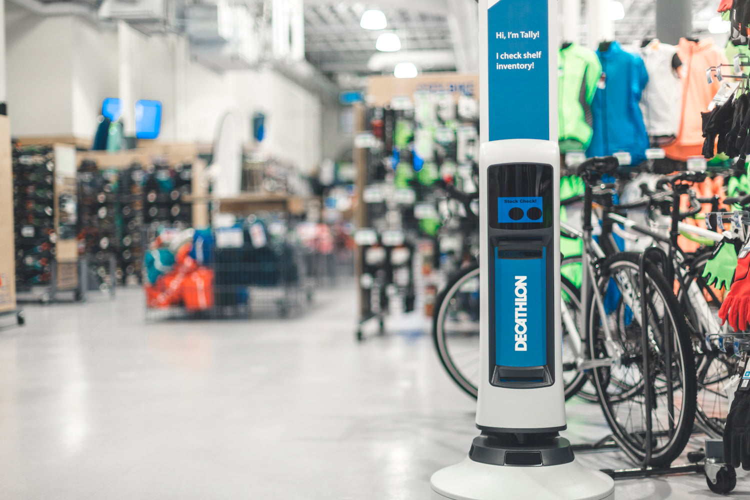 Simbe Robotics Brings 'Tally' to Streamline Decathlon's Store Experience