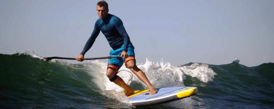 SUP SURF TRIP IN CALIFORNIA WITH AN INFLATABLE SUP BOARD