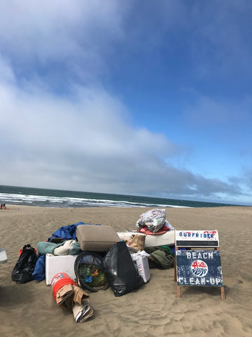 Surfrider SF beach cleanup