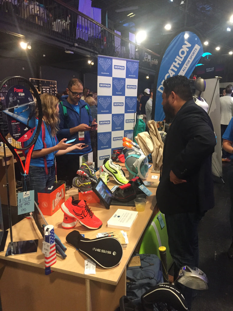decathlon booth