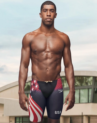 Jamal Hill, paralympic swimmer