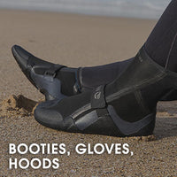 Bodyboarding Booties, Gloves, Hoods