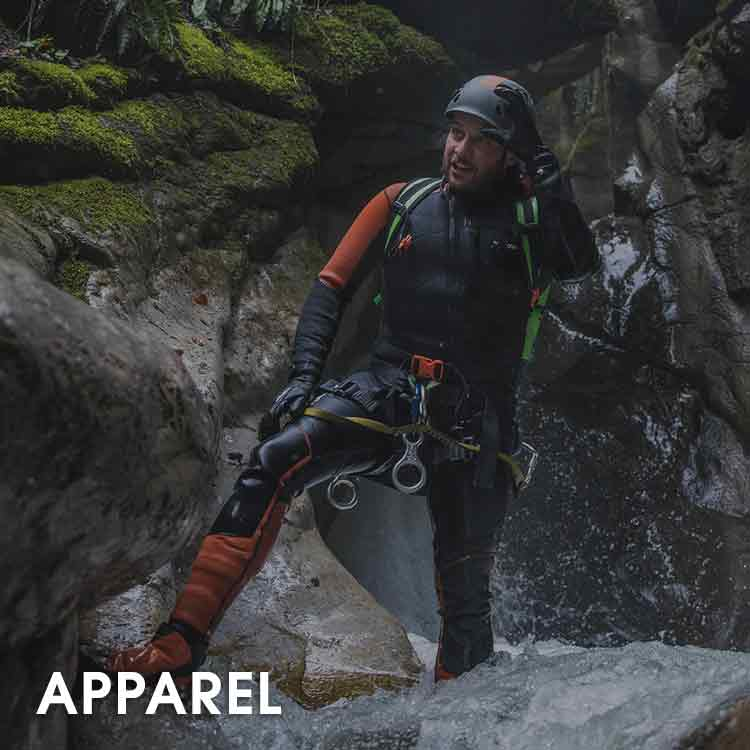 Canyoning Apparel