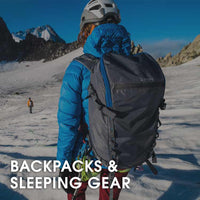 Mountaineering Backpacks & Sleeping Gear