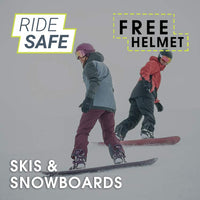 Ride Safe, Skis & Snowboards