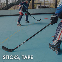 Roller Hockey Sticks & Tape