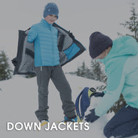 Snow Hiking Down Jackets