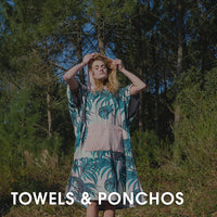 Surfing Beach Towels, Ponchos