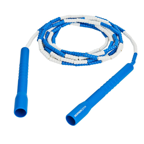 Long Plastic Freestyle Rope,blue