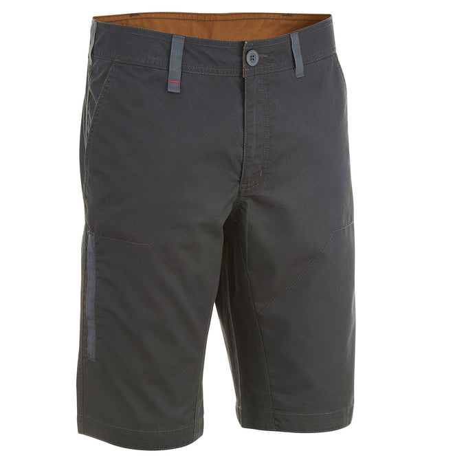 Men's Country Walking Shorts NH500,carbon gray, photo 1 of 12