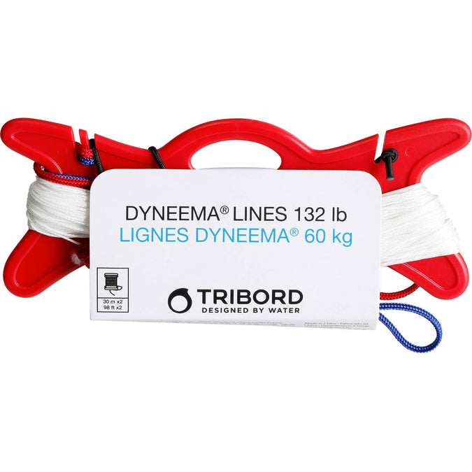 Dyneema 60 kg Sheathed Line,white, photo 1 of 4
