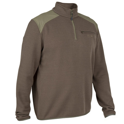 Men's Hunting High Neck Pullover 300,black