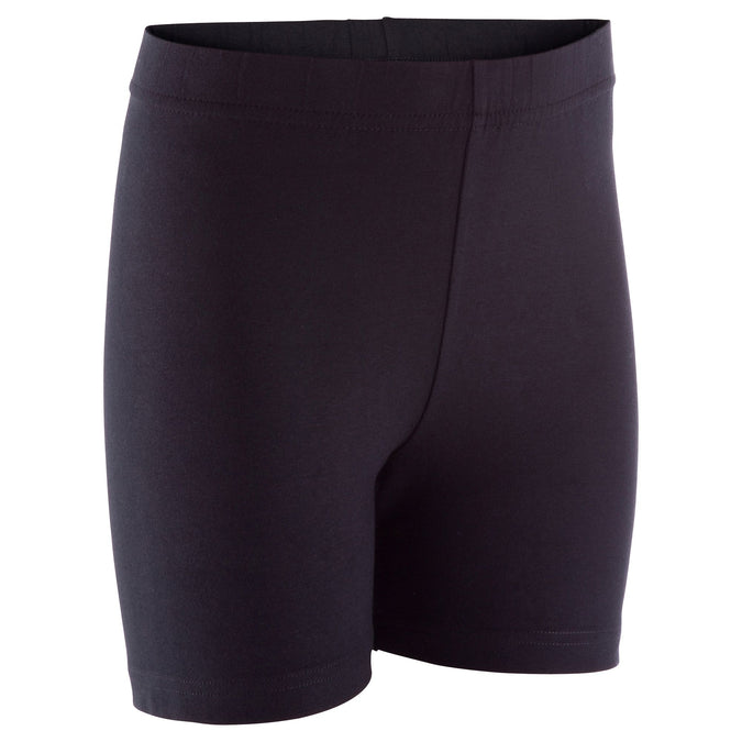 Domyos 100, Gym Shorts, Kids',black, photo 1 of 6