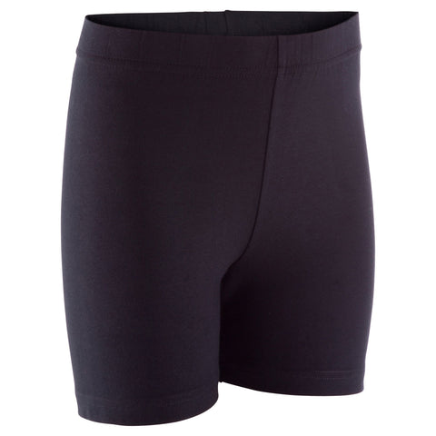 Domyos 100, Gym Shorts, Kids',black