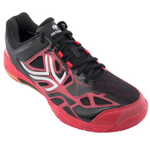 Men's Badminton & Squash Shoes BS860,garnet
