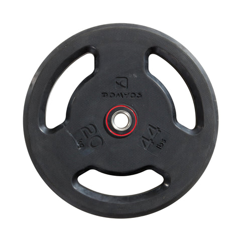 Rubber Weight Disc with Handles 28 mm - 44 lbs,