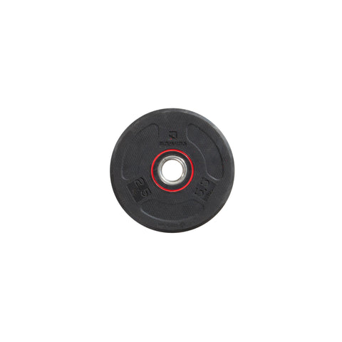 Rubber Weight Disc 28 mm - 5.5 lbs,