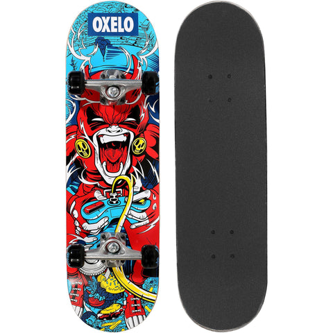 Junior Gamer Skateboard Mid 3,red