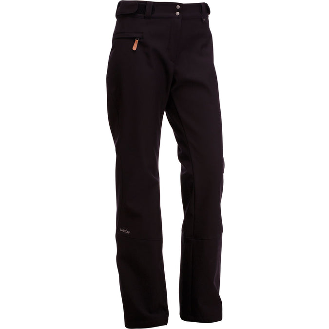 Women's Ski Pants 500,black, photo 1 of 11