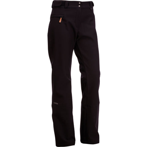 Women's Ski Pants 500,black
