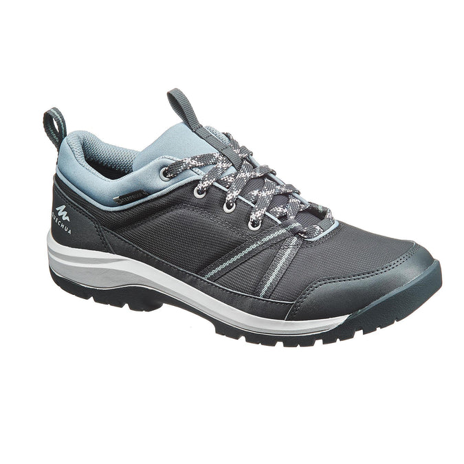 Women's Nature Hiking Shoes NH150,carbon gray, photo 1 of 10